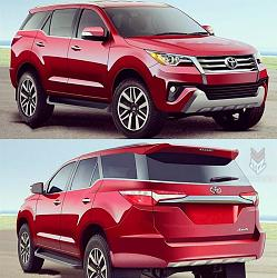 All New Revo based 2016 Toyota Fortuner will be revealed in July 2015