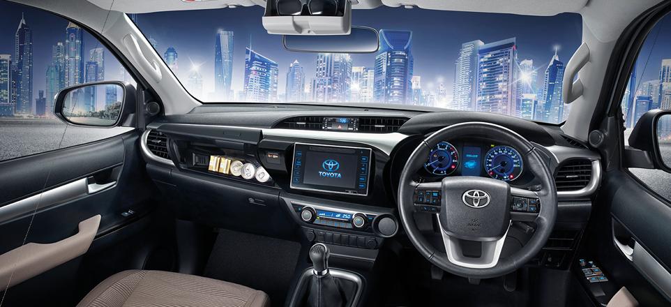 Toyota Hilux Revo Interior - Toyota Hilux Revo Exporter Thailand, Australia, Dubai, UK
