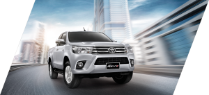 Toyota Hilux Revo is ruggedly handsome