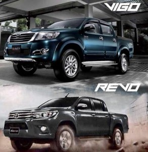 Toyota Hilux Revo and Toyota Hilux Vigo have the best resale value of any pickup