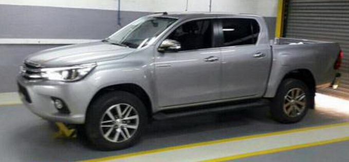 Toyota Hilux Revo New 2015 2016 Hilux Facelift Major Change Vigo Champ