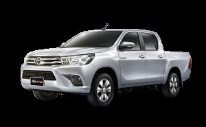 Toyota Hilux Revo in Silver Metallic