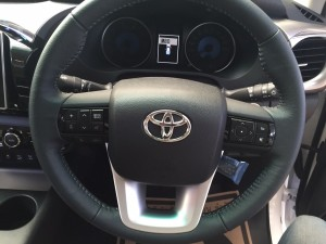 Steering of 2015 2016 Toyota Hilux Revo 2800 cc Double Cab