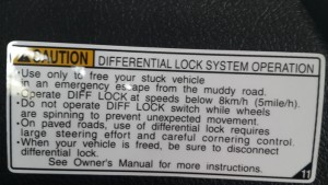 Toyota Hilux Revo now comes with diff locks (Differential Lock System)