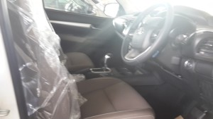 Toyota Hilux Revo Car like interior