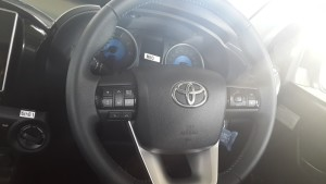 Steering of Toyota Hilux Revo