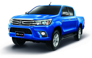 Exterior of all New Toyota Hilux Revo Thailand 2015 2016 Model