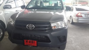 Toyota Hilux Revo Single Cab for the first time in 4WD