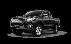 Toyota Hilux Revo Smart Cab Extra Cab in Attitude Black