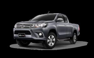 Toyota Hilux Revo Smart Cab Extra Cab in Dark Grey
