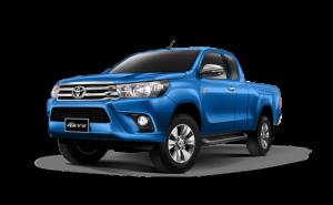 Toyota Hilux Revo Smart Cab Extra Cab in Nebula Blue