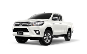 Toyota Hilux Revo Smart Cab Extra Cab in Pearl White Crystal