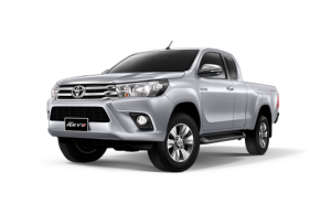 Toyota Hilux Revo Smart Cab Extra Cab in Silver Metallic