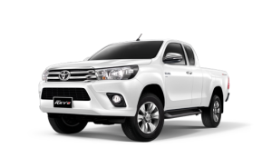 Toyota Hilux Revo Smart Cab Extra Cab in Super White