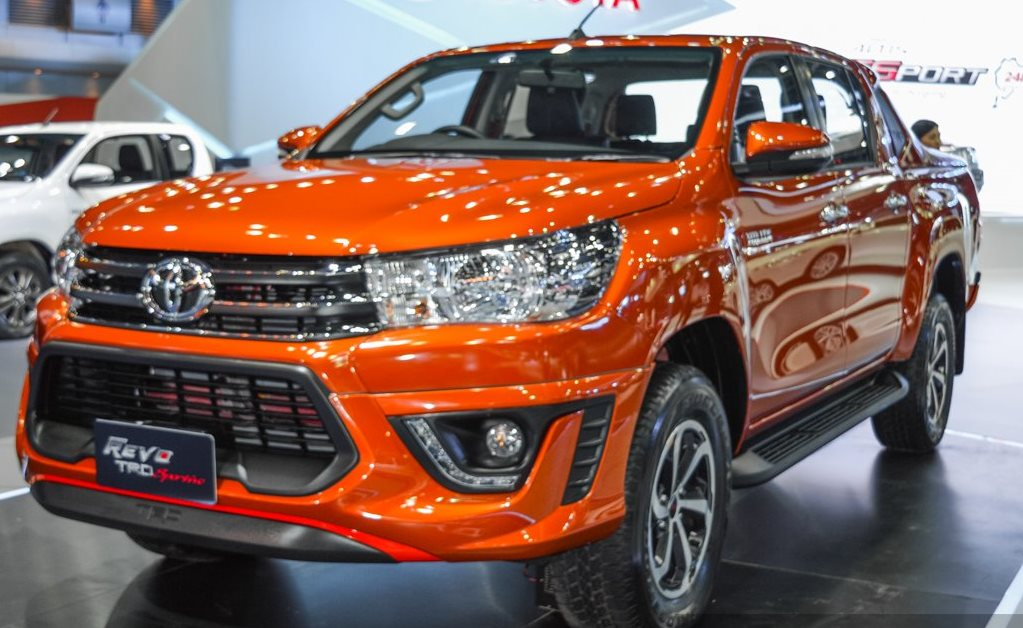 Image Gallery Hilux Revo 2016