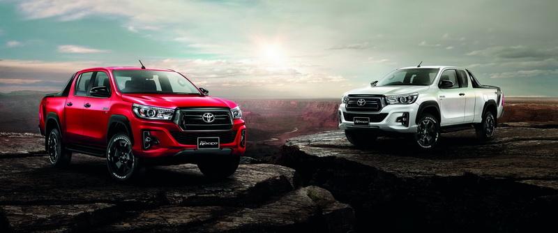 2018 Toyota Hilux Revo Rocco Thailand Minor Change 2019 ...