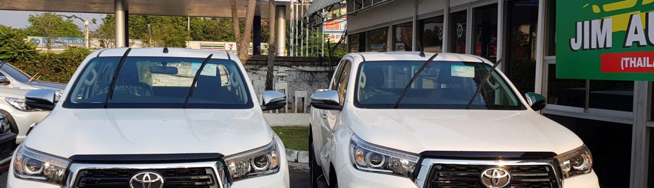 Revo Minor Change 2019 >> Hilux Revo Thailand - Toyota Hilux Revo Exporter Thailand, Australia, Dubai, UK