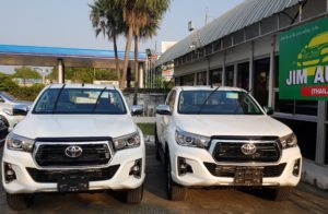 American Samoa top Toyota Hilux Importer Exporter from Thailand, Australia, UK and Dubai