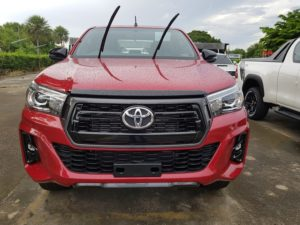 Toyota Hilux Revo Rocco on Sale in French Guiana at Jim Autos Thailand RHD LHD