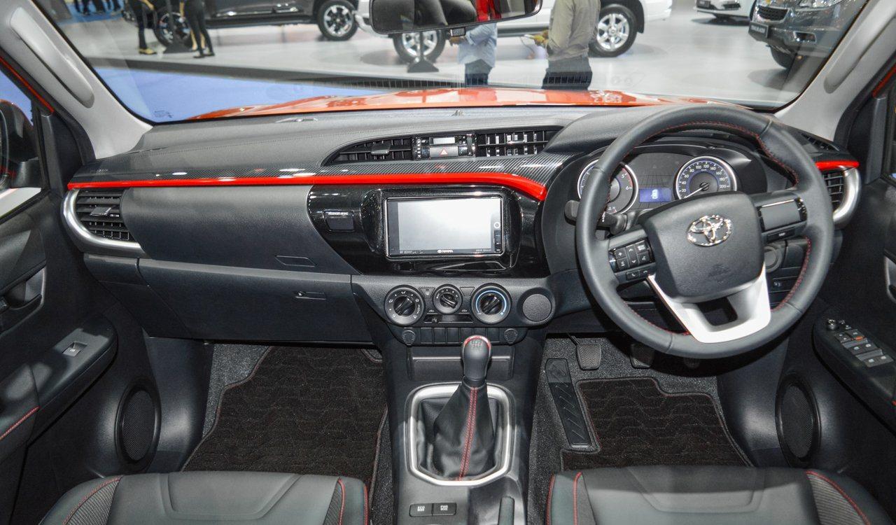 Hilux Revo Thailand Toyota Exporter Australia Wiring Diagram Interior