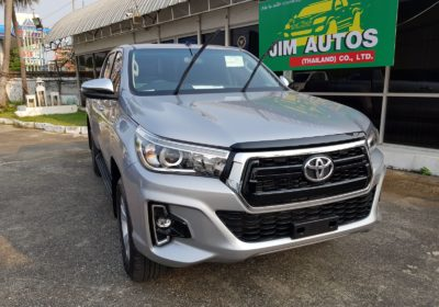 2019 2020 Toyota Hilux Revo Thailand Facelift Minor Change Model